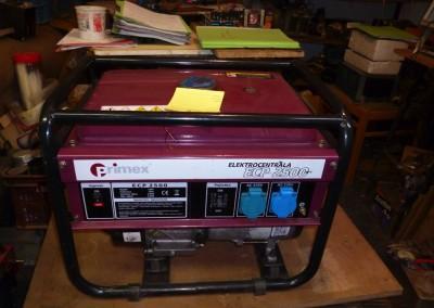 Elektrocentrála Primex ECP 2500