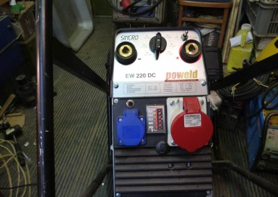 Elektrocentrála SINCRO EW 220 DC